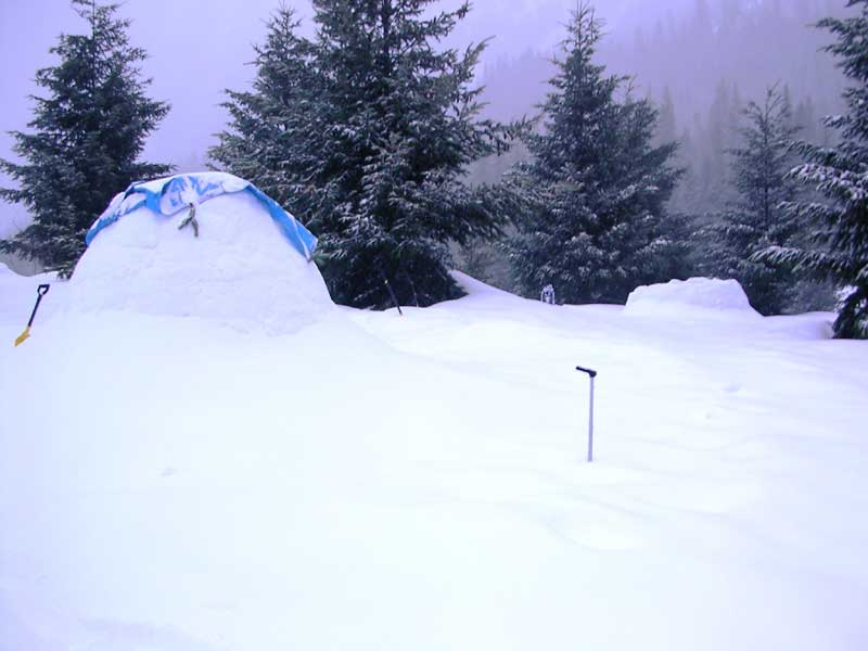 We Love Winter Camping