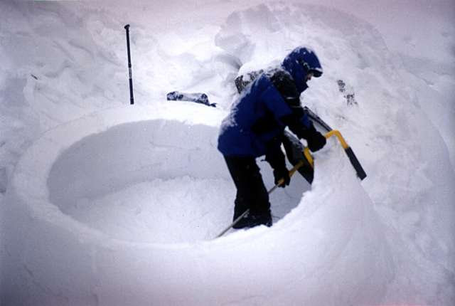 Igloo and Snow Shelter Winter Camping Experts