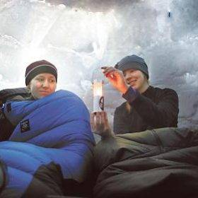 helsingin sleep in an igloo