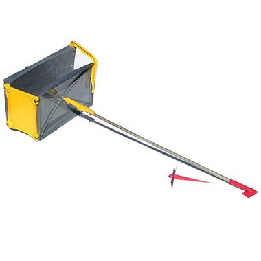 Icebox snow block maker tool.