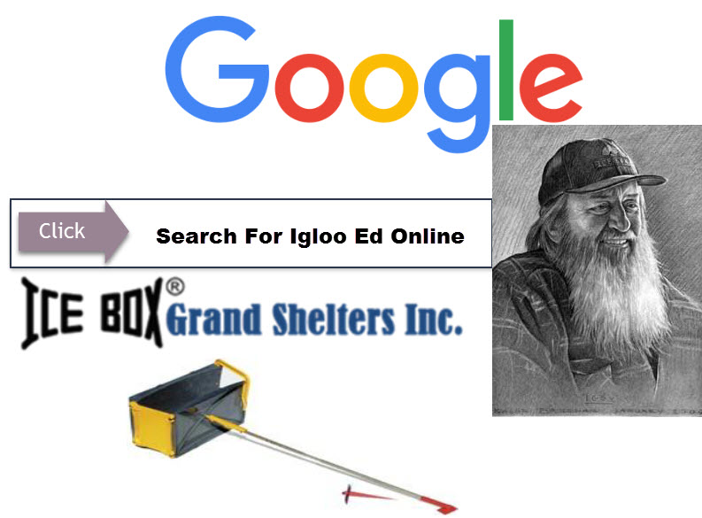 Grand Shelters' footer image of searching Igloo Ed online.
