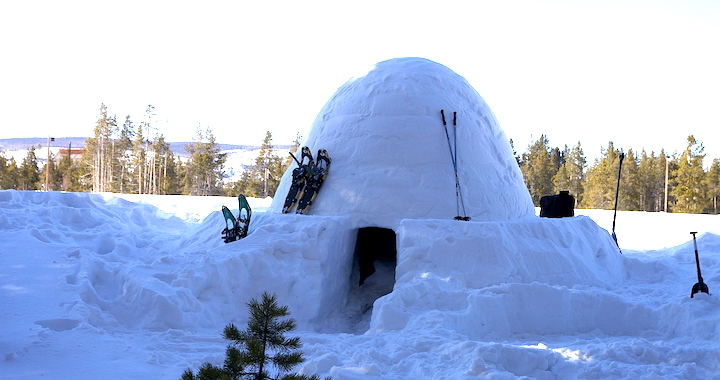 How to build a sturdy, beautiful igloo with the ICEBOX igloo maker