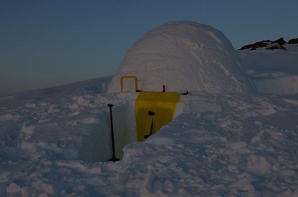 snow tents