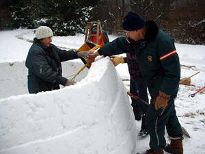Customer Igloo Build